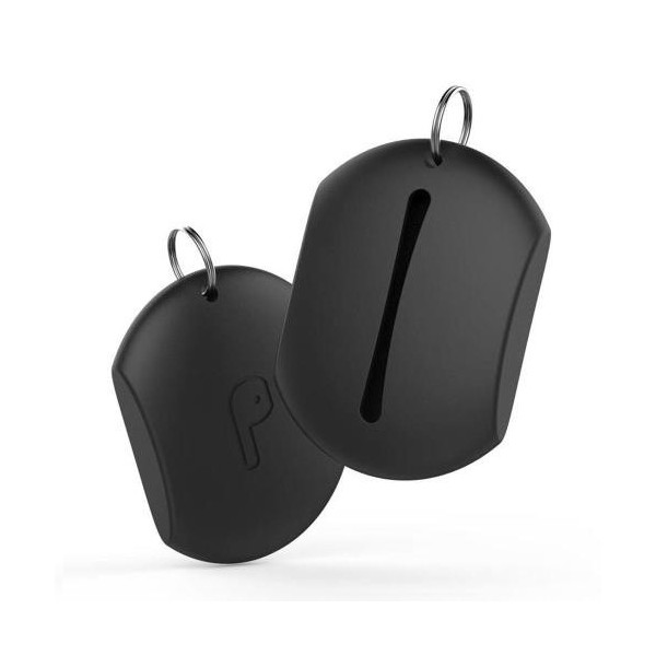 Silicon Pouch AhaStyle PT41 Apple EarPods Μαύρο