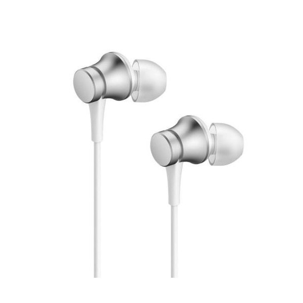 Hands Free Stereo Xiaomi Mi In-Ear Headphones Basic 3.5mm HSEJ03JY Ασημί
