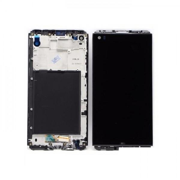 H990 Γνήσια οθόνη με μηχανισμό αφής και πλαίσιο LG V20 H990