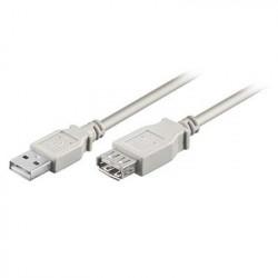 Καλώδιο USB A αρσ. - USB A θηλ.,2.0 Μήκος:5m CABLE-143/5HS