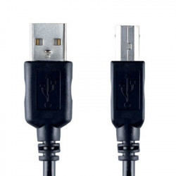 Καλώδιο USB Bandridge Value line, USB-A male - USB-B male σε μήκος 4.5m.