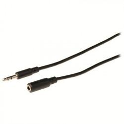Καλώδιο 3,5mm Stereo αρσ. - 3,5mm Stereo θηλ. 2m